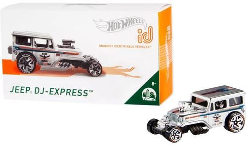 Hot Wheels ID Jeep DJ-Express Diecast Car