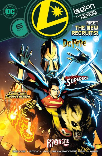 DC Comics Legion of Super-Heroes, Vol. 8 #6 Comic Book