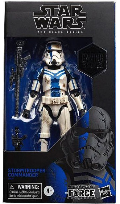 Star Wars The Force Unleashed Black Series Stormtrooper Commander Exclusive Action Figure