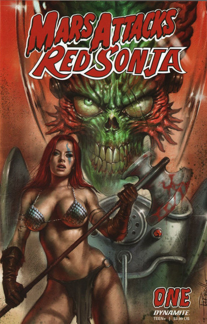 Dynamite Entertainment Mars Attacks Red Sonja #1 Comic Book [Cover A Parrillo]