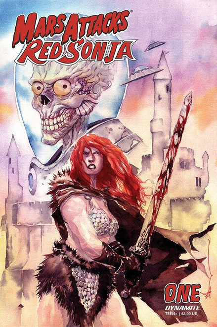 Dynamite Entertainment Mars Attacks Red Sonja #1 Comic Book [Cover B Nguyen]