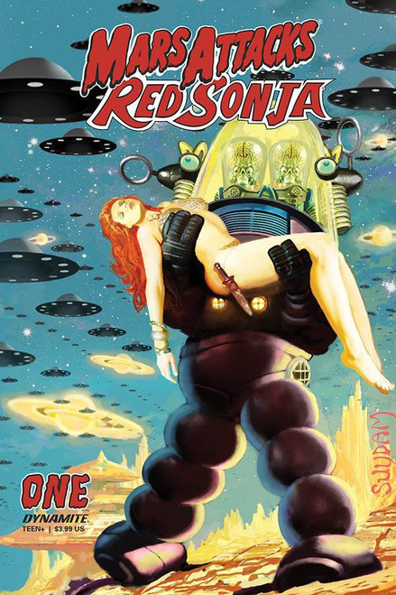 Dynamite Entertainment Mars Attacks Red Sonja #1 Comic Book [Cover C Suydam]