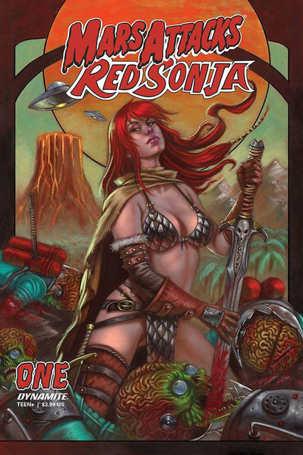 Dynamite Entertainment Mars Attacks Red Sonja #1 Comic Book [Cover D Strati]