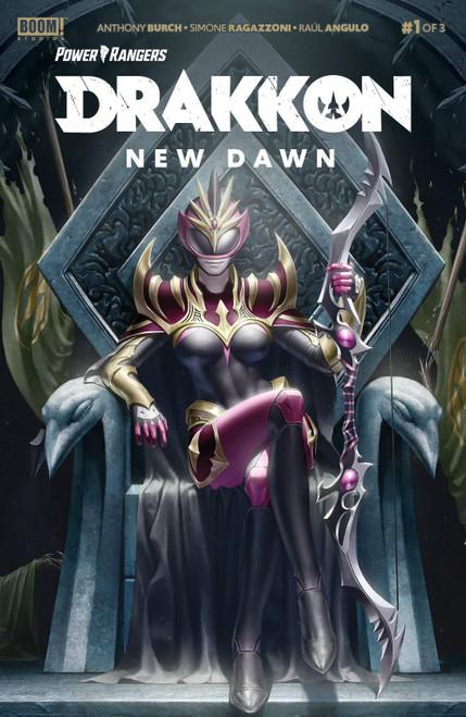 Boom Studios Power Rangers Drakkon New Dawn #1 Comic Book
