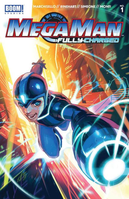 Boom! Studios Mega Man Fully Charged #1 Comic Book