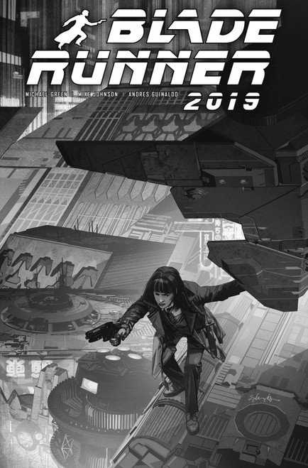Titan Comics Blade Runner 2019 #9 Comic Book [Cover E Edwards Black & White]