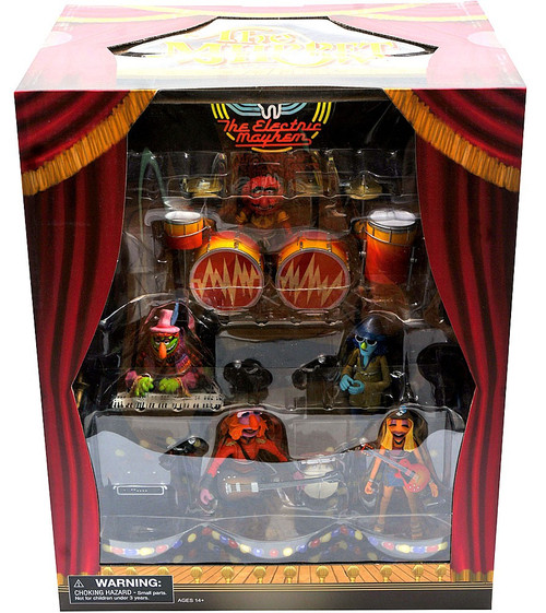 The Muppets The Electric Mayhem Exclusive Action Figure Boxed Set