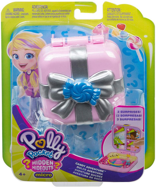 Polly Pocket Hidden Hideouts Candy Adventure Playset