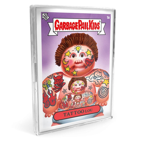 Garbage Pail Kids Topps Bizarre Holidays June Week 1 Set [10 Base Stickers PLUS 1 Purple Border Parallel Sticker!]
