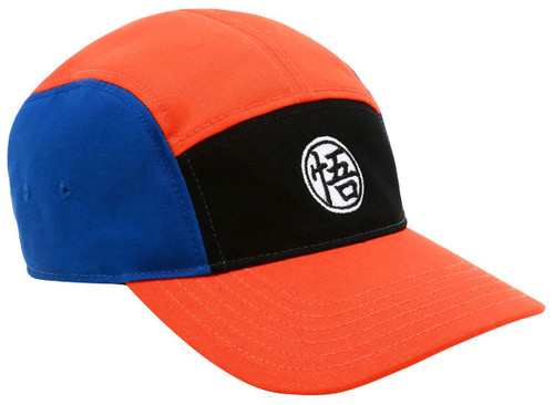 Dragon Ball Z Blue, Orange & Black 5-Panel Snapback Cap