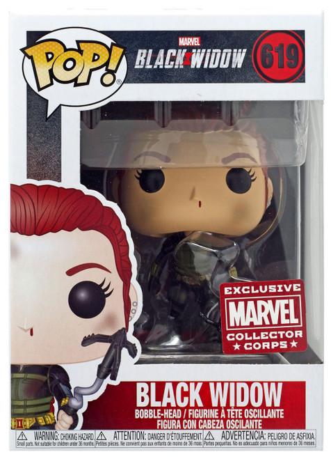 Funko POP! Marvel Black Widow Exclusive Vinyl Figure #619 [Grapple Hook]