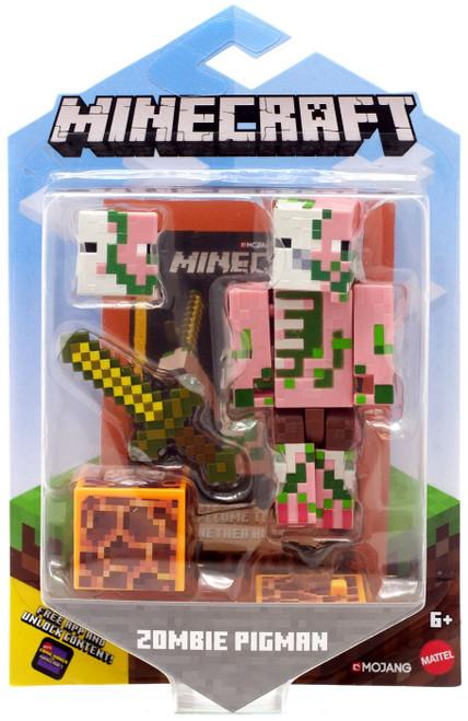 Minecraft Comic Maker Zombie Pigman Action Figure
