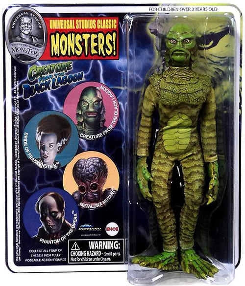 Universal Monsters Series 3 Retro Creature from the Black Lagoon Action Figure