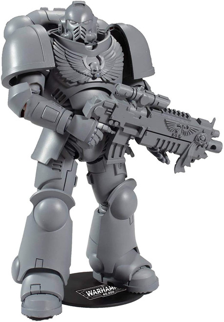 McFarlane Toys Warhammer Series 1 Space Marine Primaris Intercessor 'AP' Artist Proof Action Figure