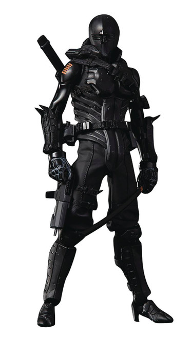 GI JOE x TOA Heavy Industries Snake Eyes Action Figure