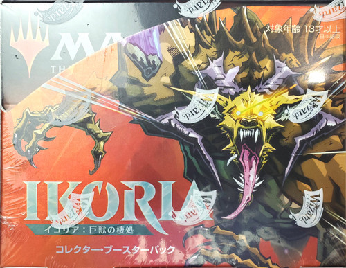 MtG Trading Card Game Ikoria: Lair of Behemoths COLLECTOR Booster Box [12 Packs, JAPANESE]