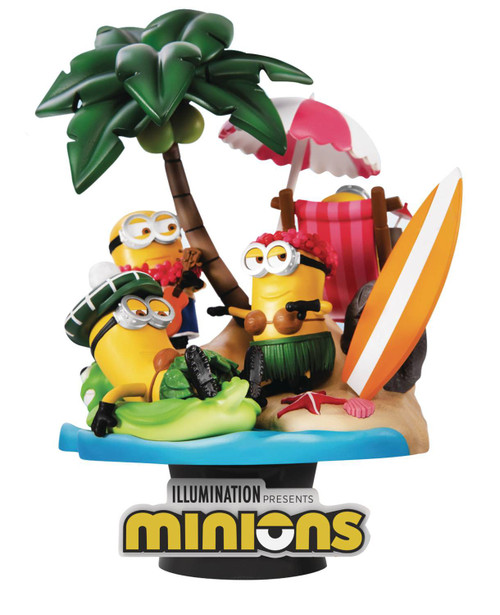 Minions D-Stage Paradise 6-Inch Diorama Statue DS-048