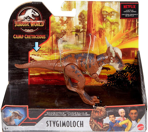 Jurassic World Camp Cretaceous Stygimoloch Action Figure [Savage Strike]