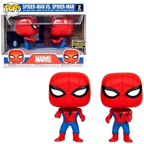 Funko Marvel Zombies POP! Movies Spider-Man Imposter Exclusive Vinyl Figure 2-Pack [Double Identity]