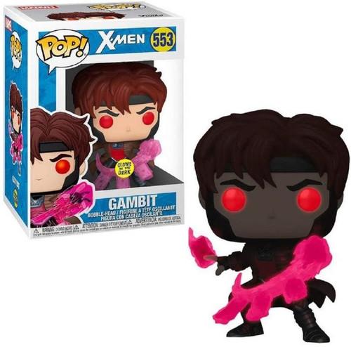 Funko Marvel X-Men POP! Movies Gambit Exclusive Vinyl Figure #553 [Glow-in-the-Dark]