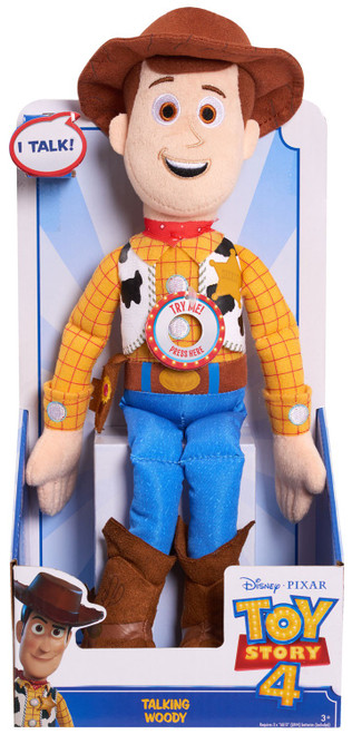 Toy Story 4 Woody 13-Inch Talking Plush