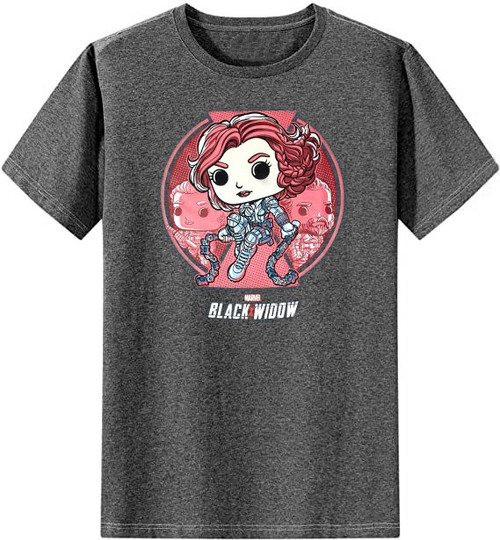 Funko Marvel Collector Corps Black Widow Exclusive T-Shirt [Small]