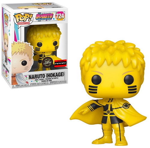 Funko Boruto Naruto Next Generations Pop! Animation Naruto (Hokage) Exclusive Vinyl Figure #724 [Glow-in-the-Dark, Chase Version]