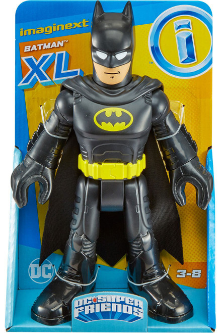 Fisher Price DC Super Friends Imaginext Batman 10-Inch XL Figure