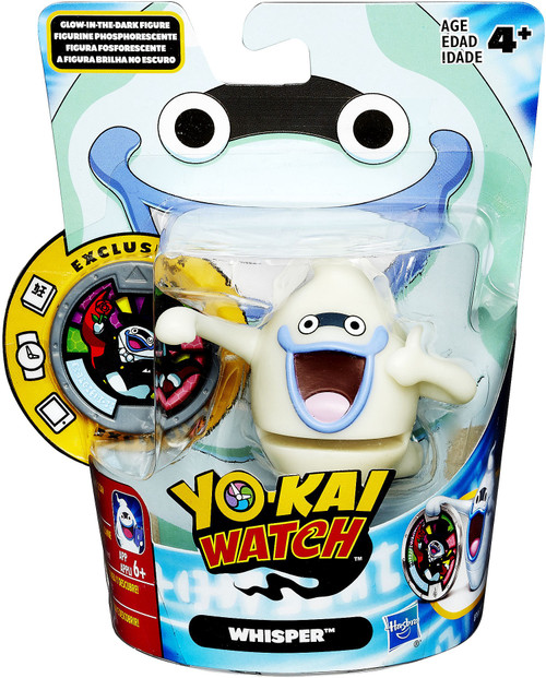 Yo-Kai Watch Medal Moments Glow In The Dark Whisper Mini Figure