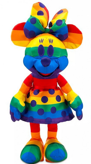 Disney Mickey Mouse Rainbow Collection Minnie Mouse 19.5-Inch Plush [2020]