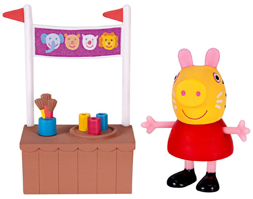 Face Painting with Peppa Pig Mini Figure