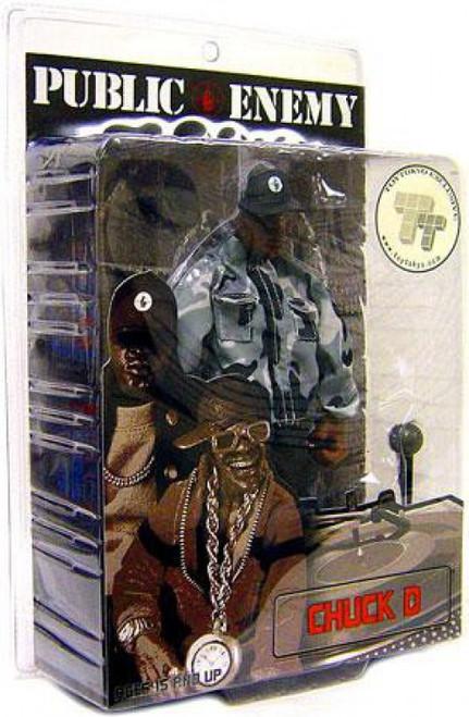 Public Enemy Rap Stars Chuck D. Action Figure [Black & White]