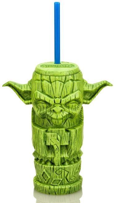 Star Wars Geeki Tiki Yoda 7-Inch Plastic Tumbler