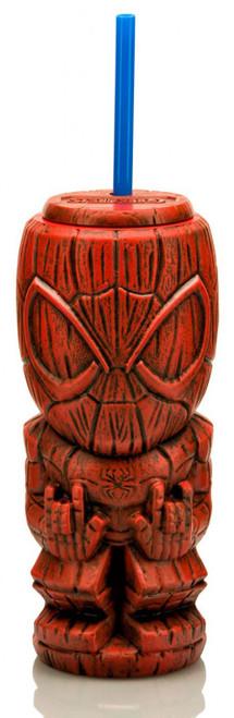 Marvel Geeki Tiki Spider-Man 8-Inch Plastic Tumbler