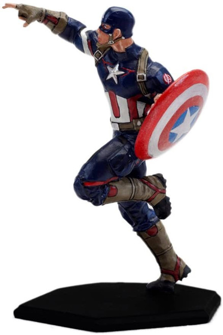 Marvel Avengers Age of Ultron Metal Miniature Captain America Mini Figure