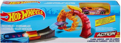 Hot Wheels Action Flame Jumper Track Set