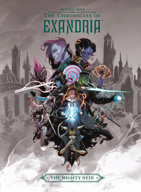 Dark Horse Critical Role Chronicles of Exandria Volume 1 Hardcover [The Mighty Nein]