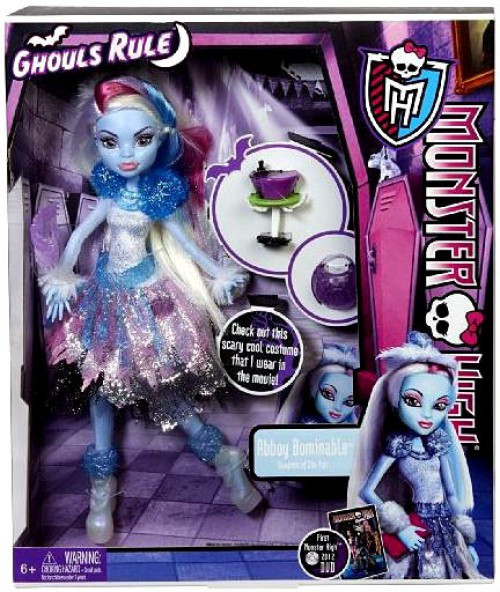 Monster High Ghouls Rule Abbey Bominable Exclusive 10.5-Inch Doll [Damaged Package]