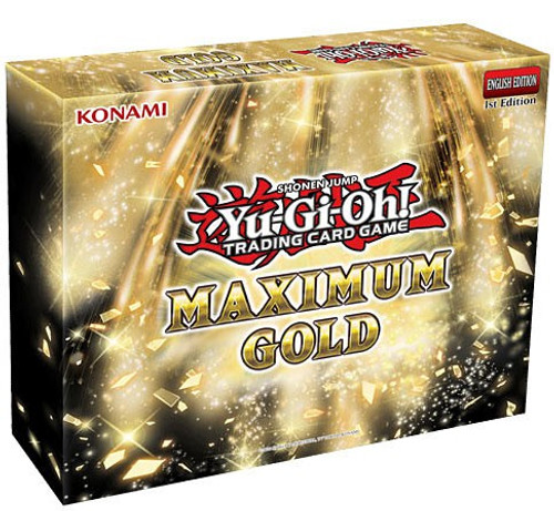 YuGiOh Trading Card Game Maximum Gold MINI Box [4 Booster Packs]