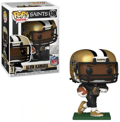 Funko NFL New Orleans Saints POP! Sports Football Alvin Kamara Vinyl Figure