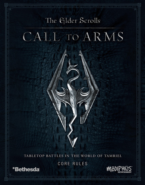 Bethesda The Elder Scrolls: Call to Arms Core Rules Box