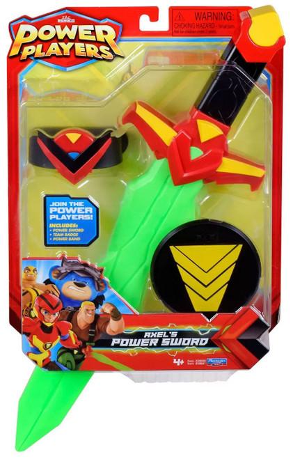 Zag Heroez Power Players Axel's Power Sword