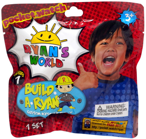 Ryan's World Series 1 Build a Ryan Custom Mystery Figure Mystery Pack