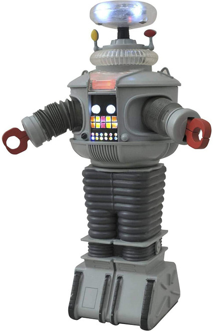 Lost in Space Electronic B-9 Robot Action Figure [Lights & Sounds]
