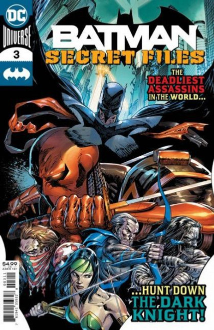 DC Comics Batman: Secret Files #3 Comic Book