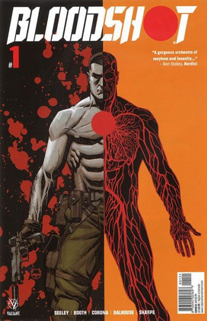 Valiant Comics Bloodshot, Vol. 4 #1B Comic Book