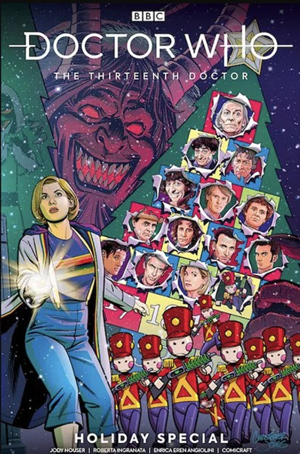 Titan Books Doctor Who: The Thirteenth Doctor Holiday Special #2D Comic Book