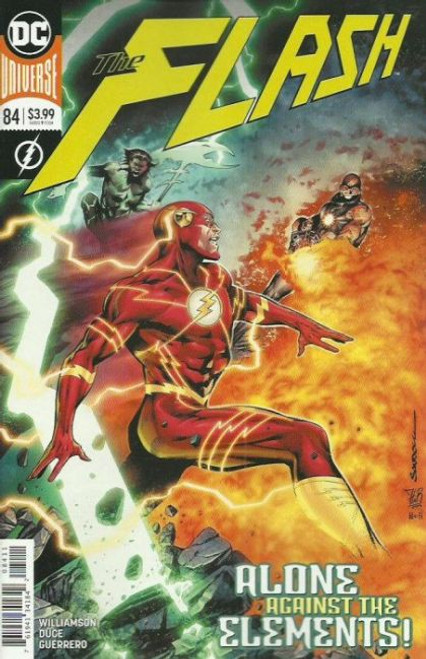 DC Comics Flash, Vol. 5 #84A Comic Book