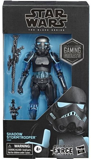 Star Wars The Force Unleashed Black Series Shadow Stormtrooper Exclusive Action Figure