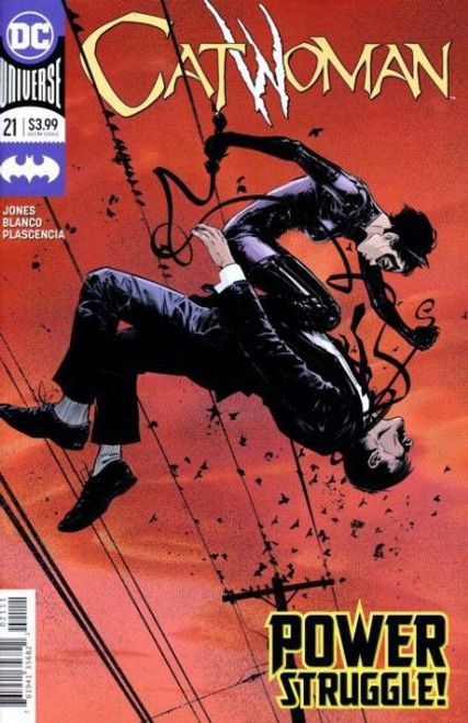 DC Comics Catwoman, Vol. 5 #21A Comic Book